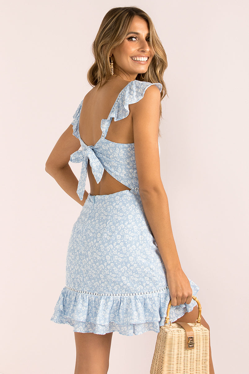 Patterson Dress / Blue