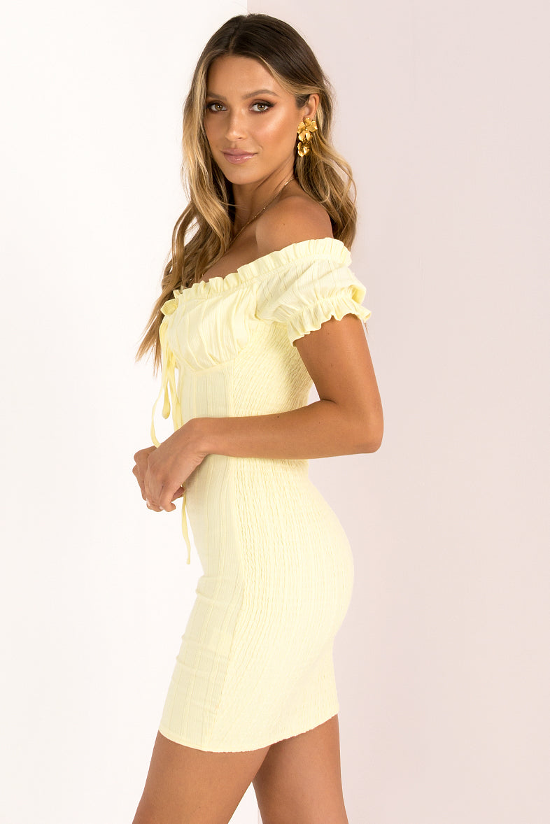 Belle Dress / Lemon