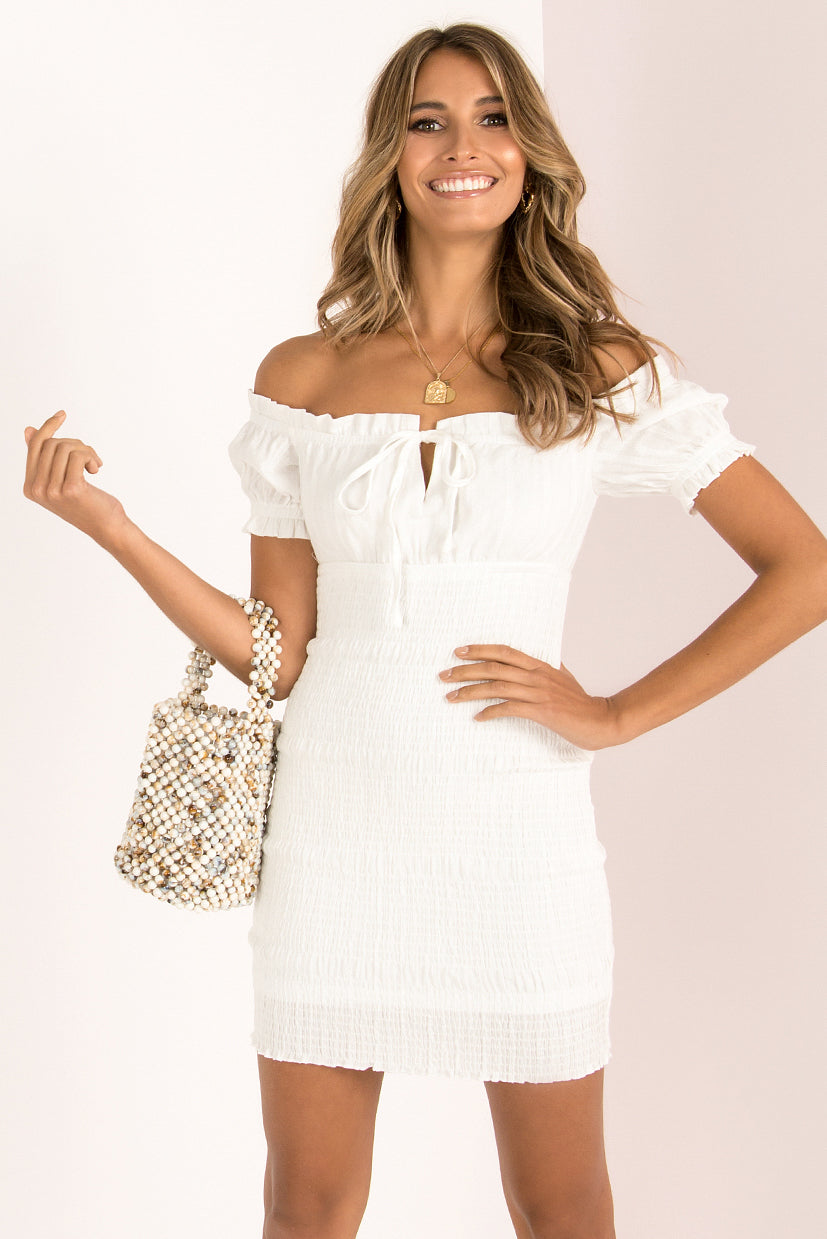 Rhiannon Dress / White
