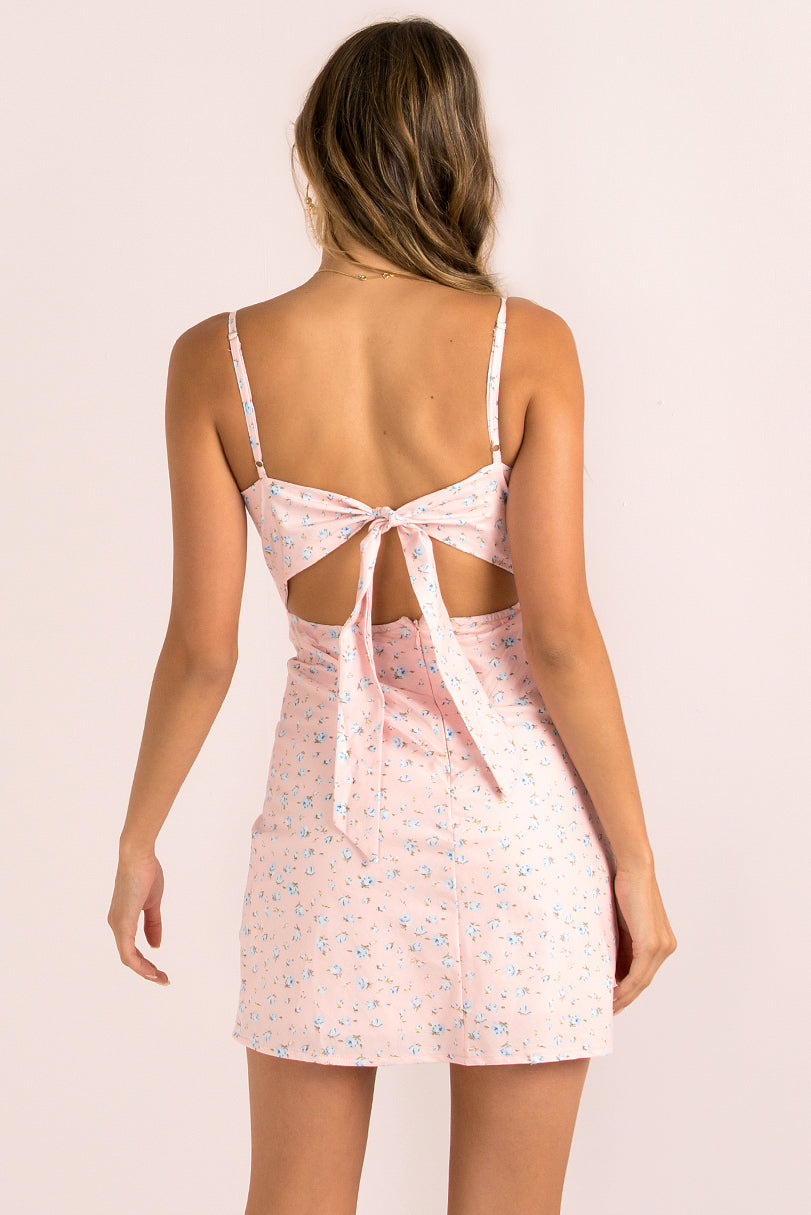Reese Dress / Baby Pink