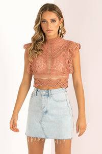 Ophelia Top / Rose