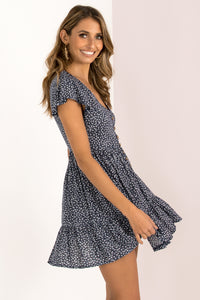 Tessa Dress / Navy