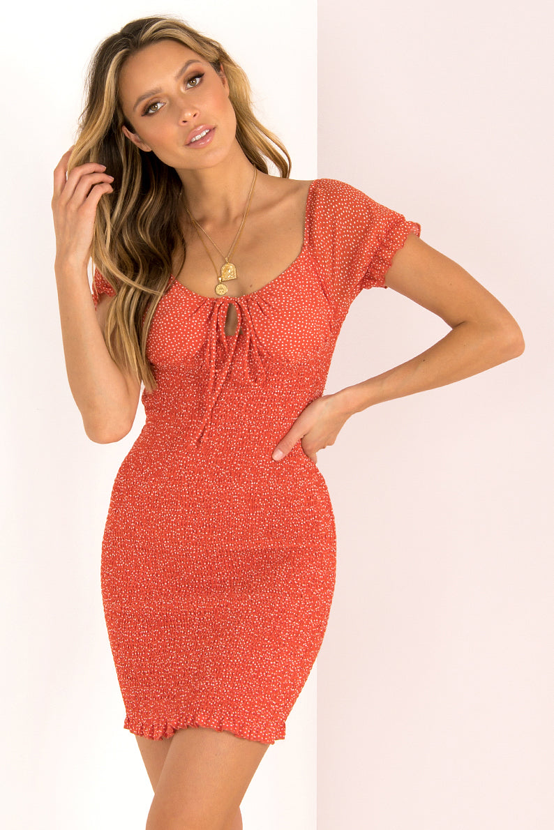 Abella Dress / Red