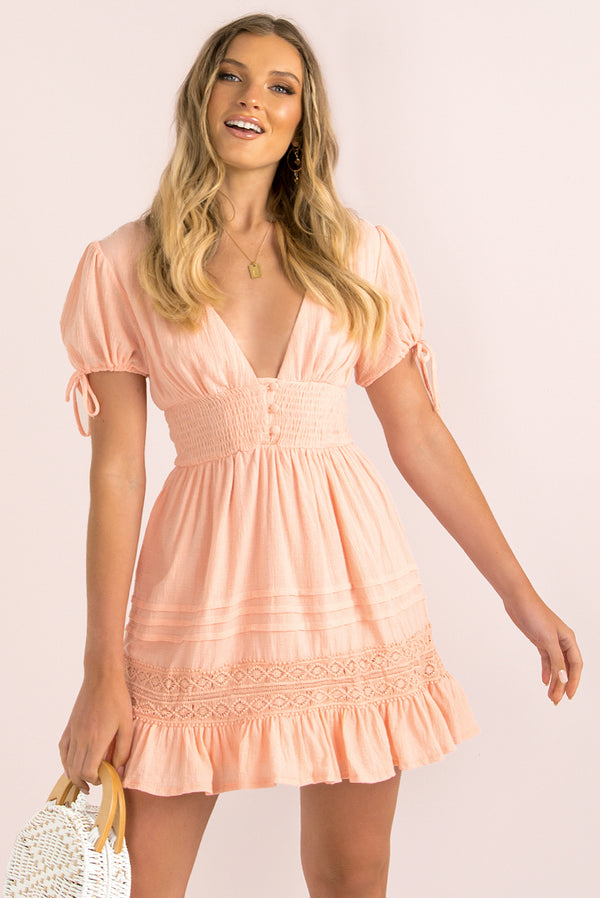 Catalina Dress / Blush