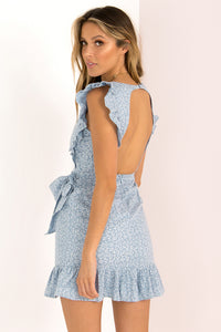 Hazel Dress / Blue