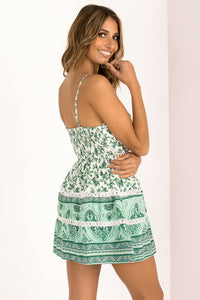 Jamie Dress / Emerald