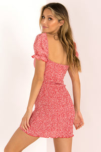 Aggie Dress / Red
