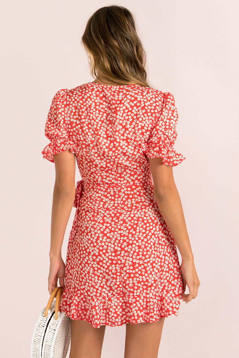 Valentina Dress / Red