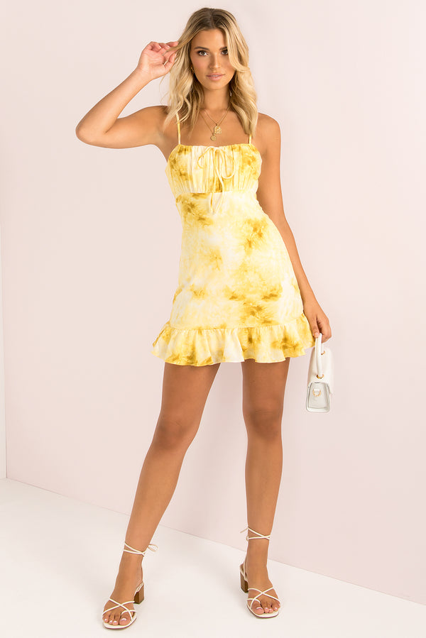 Kimbra Dress / Yellow