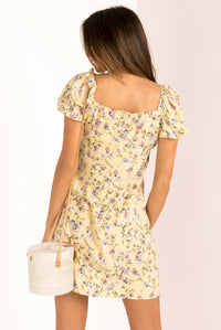 Connor Dress / Yellow