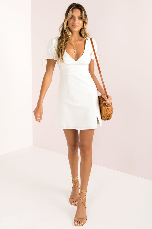 Amalfi Dress / White