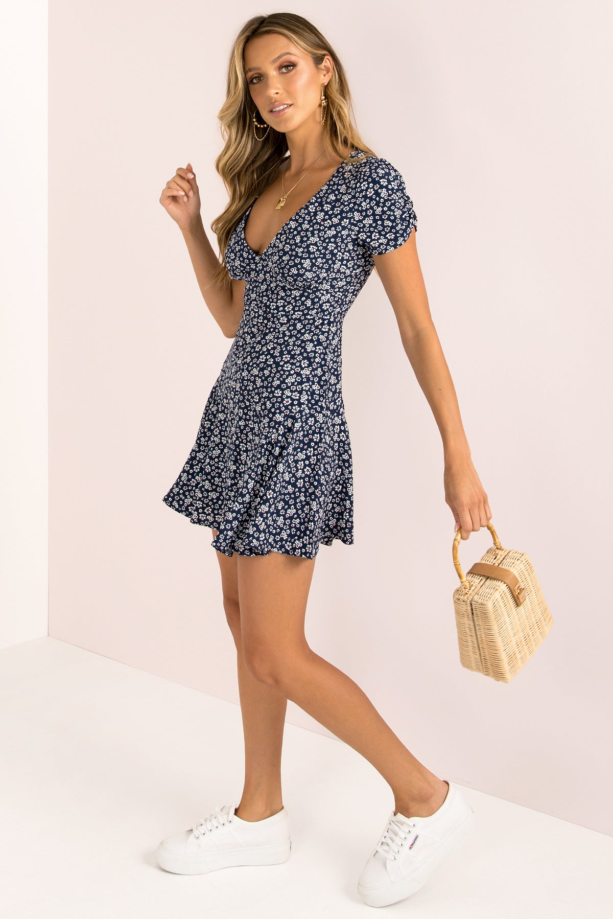 Gabriella Dress / Navy
