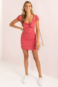 Bianca Dress / Red