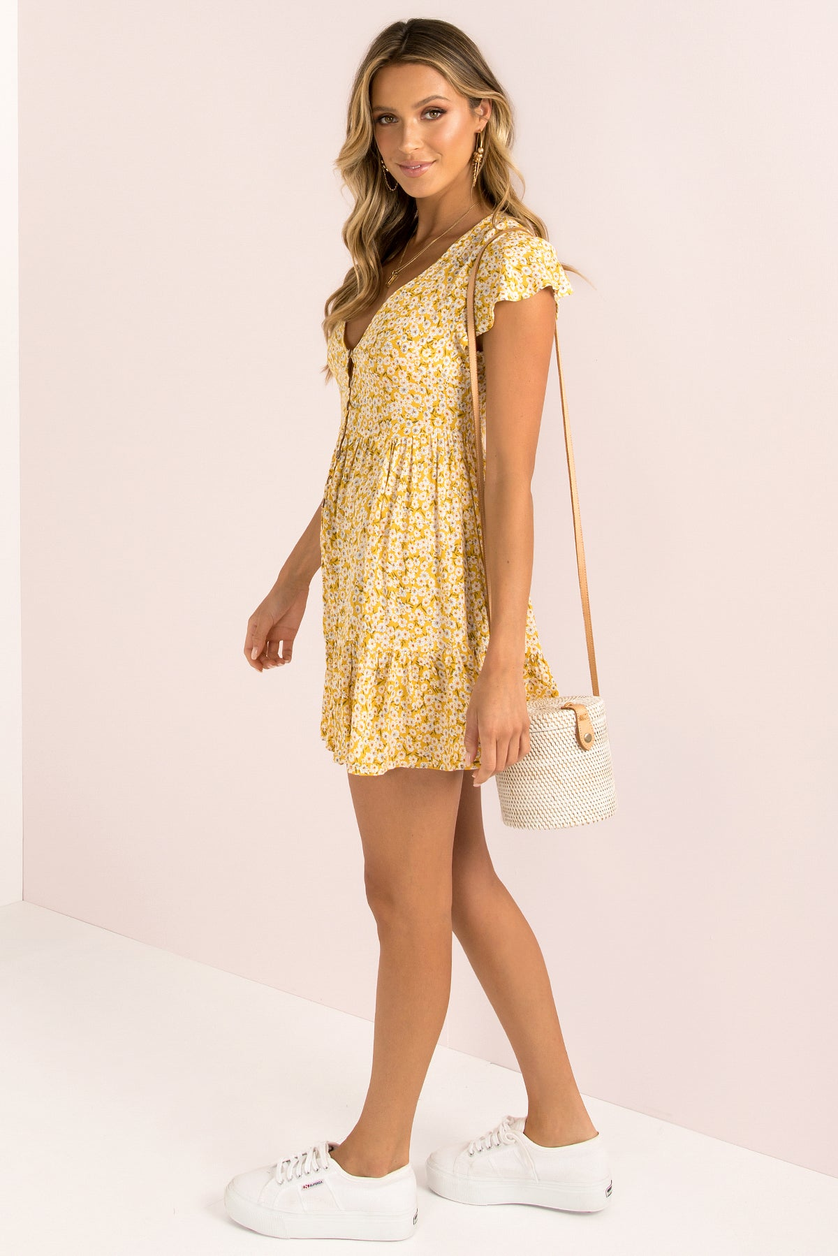 Tessa Dress / Yellow
