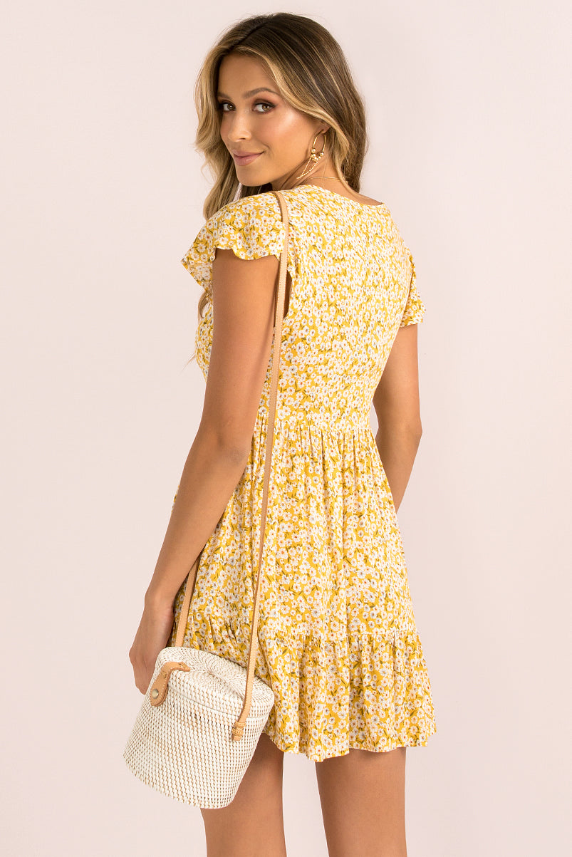 Belle Dress / White