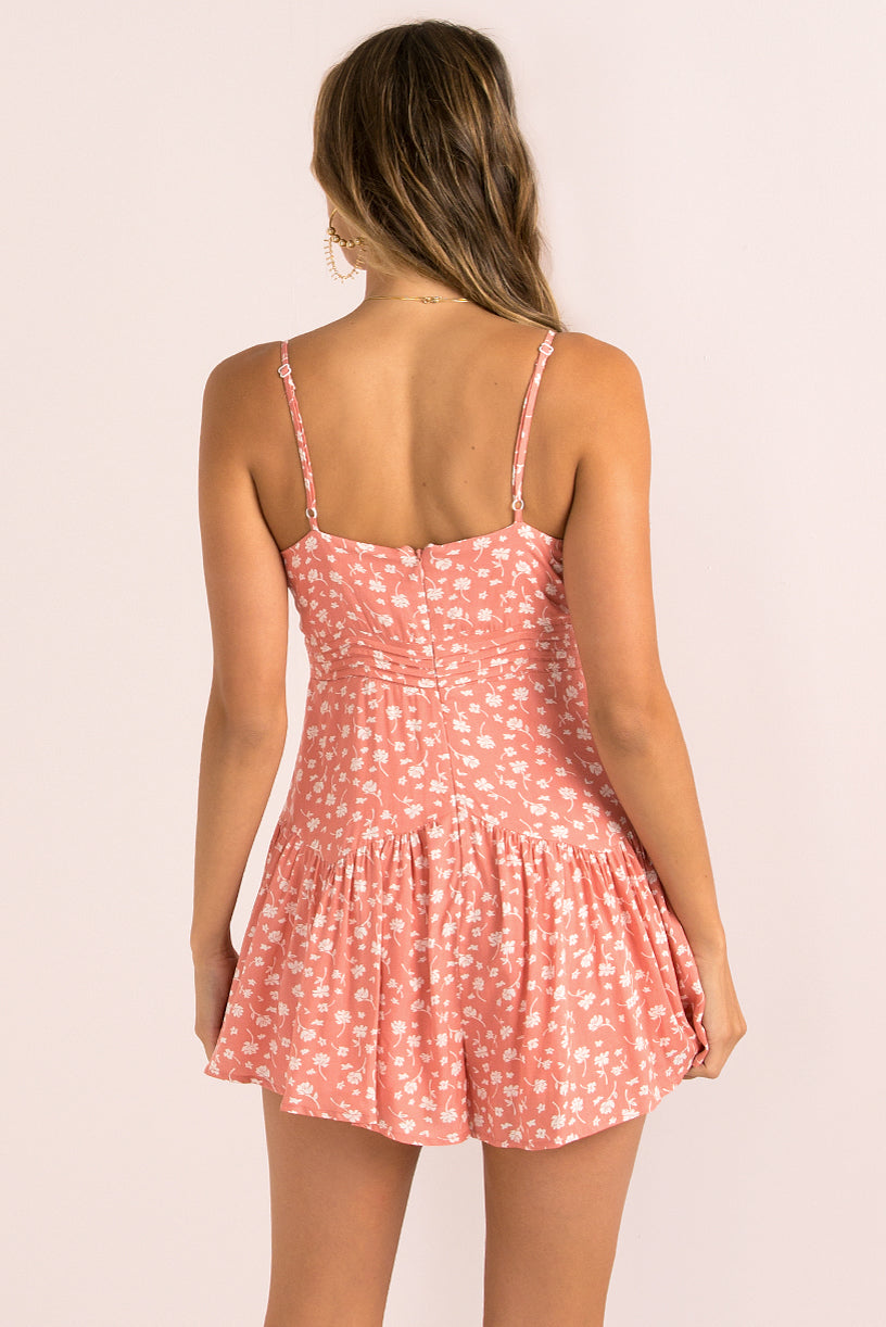 Tammy Playsuit / Pink
