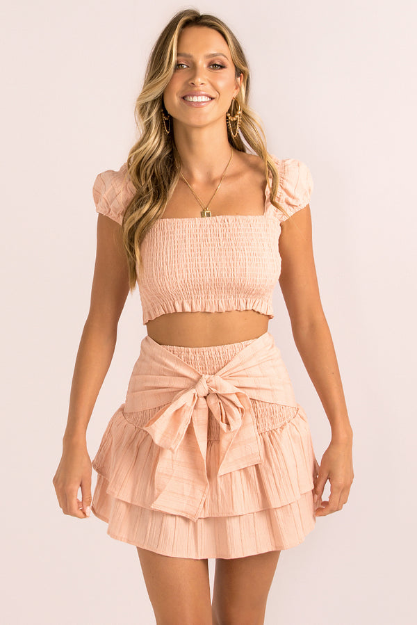 Fifi Skirt / Blush