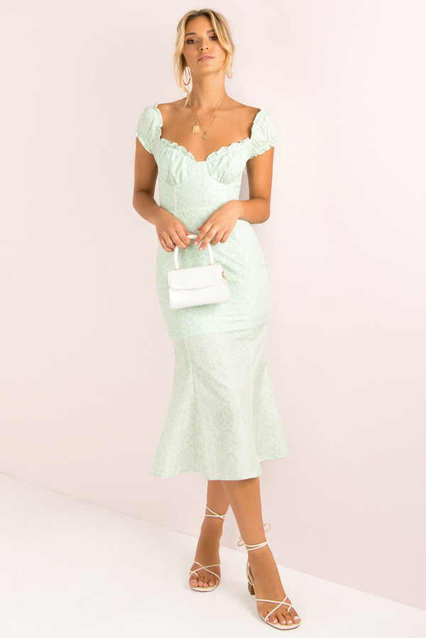 Britania Dress / Mint