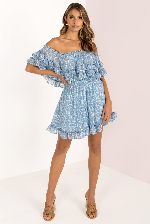 Marissa Dress / Blue