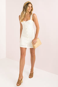 Villa Dress / White
