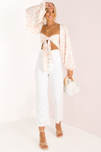 Marbella Pants / White