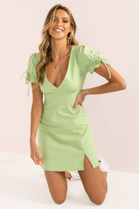 Amalfi Dress / Lime
