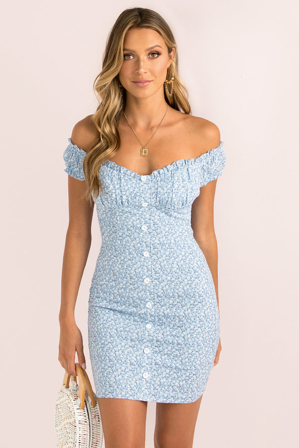 Holly Dress / Blue