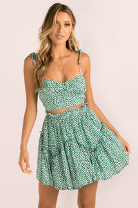 Cameron Skirt / Green