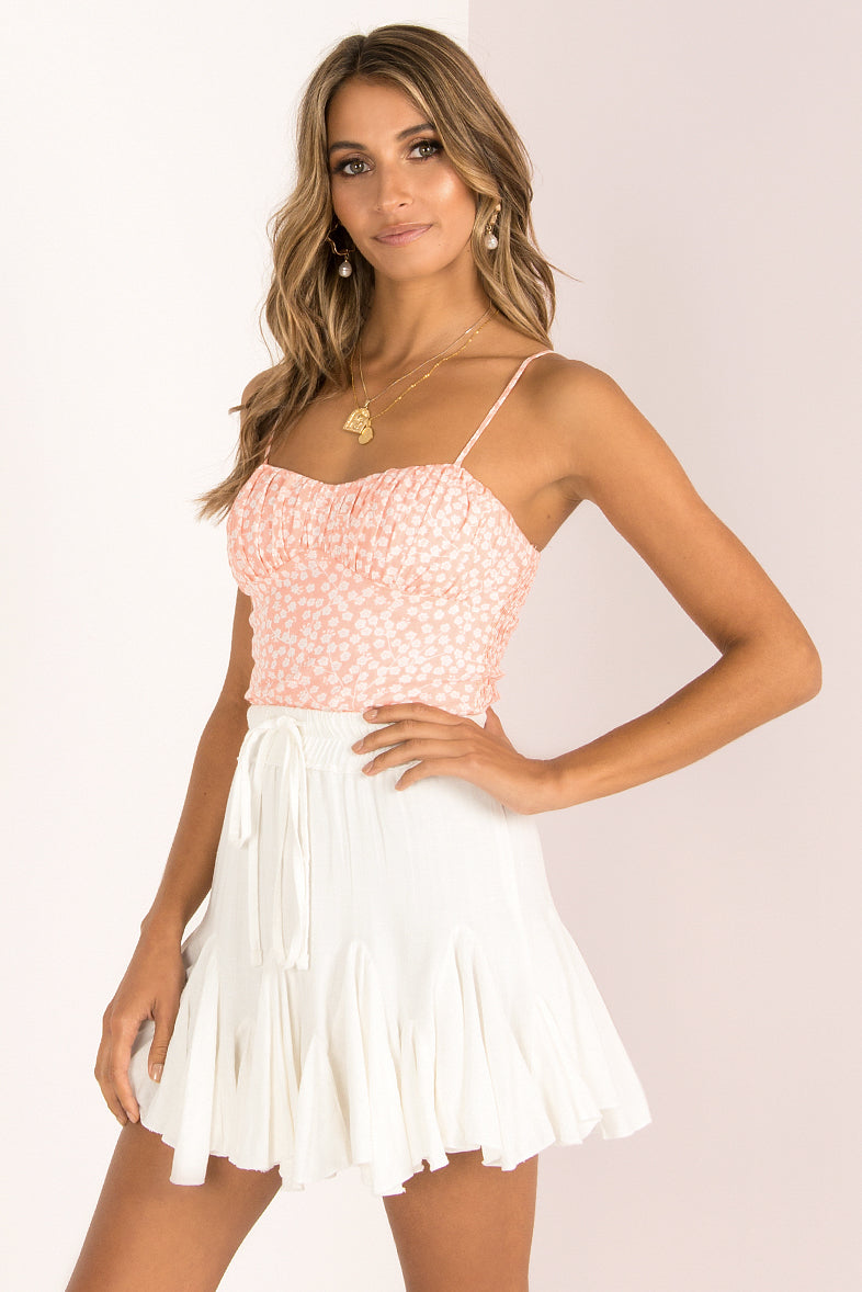 Wendy Top / Blush Floral