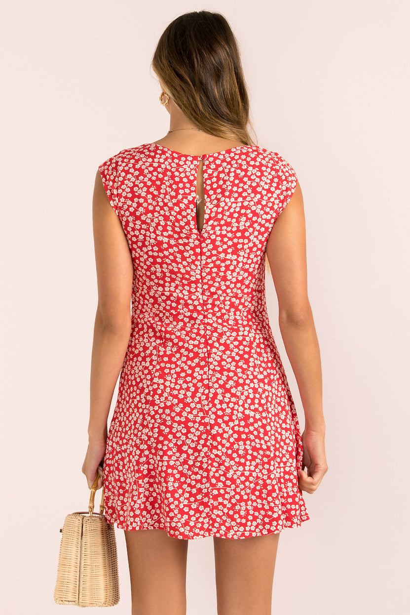 Brooklyn Dress / Red