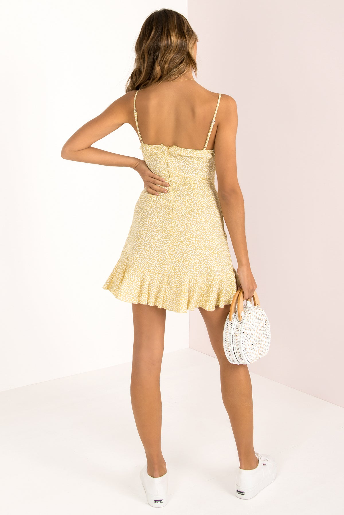 Leah Dress / Yellow