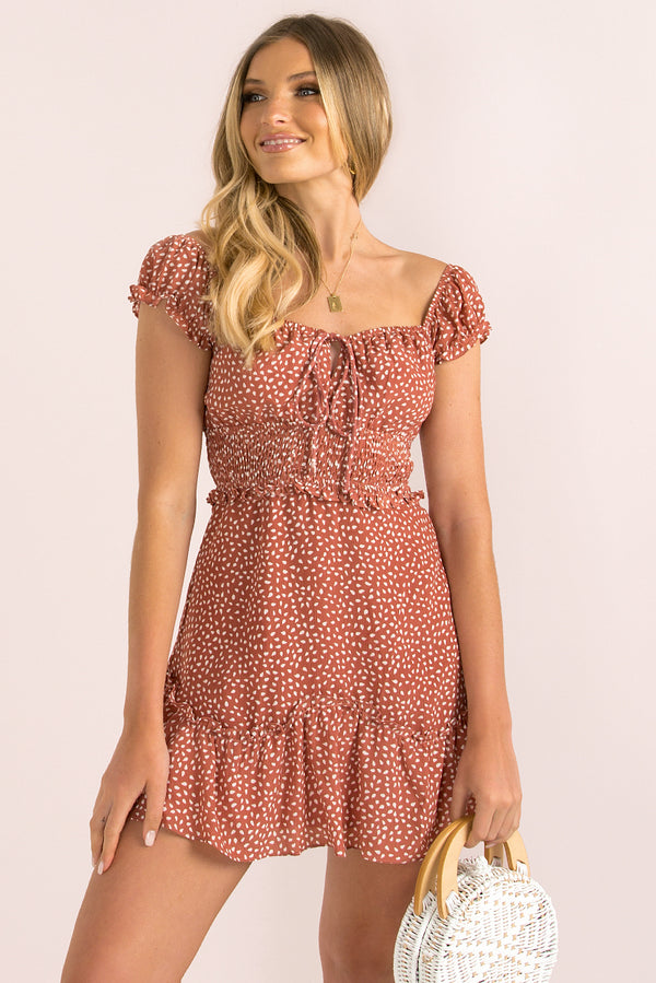 Simone Dress / Rose