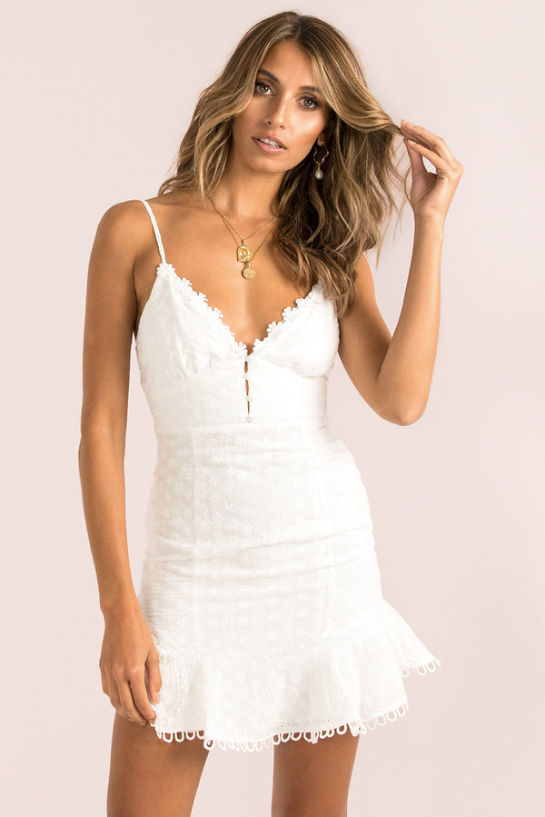 Amour Dress / White