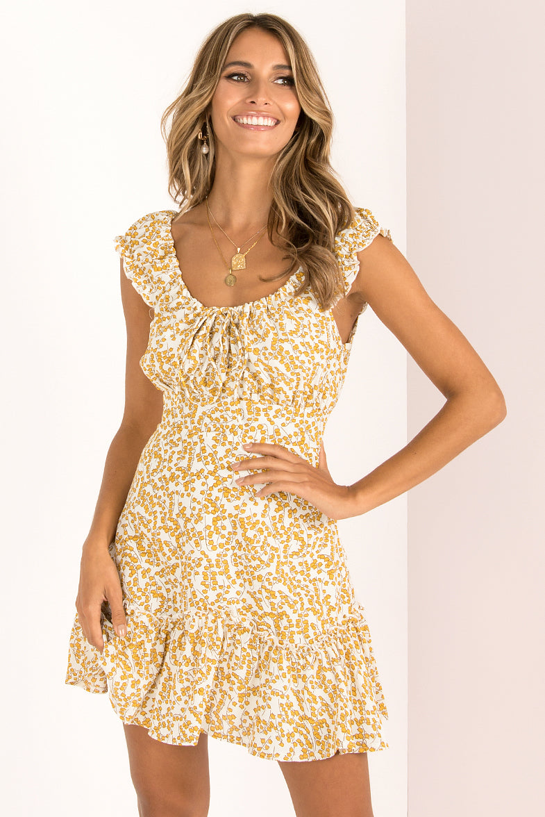 Frida Dress / Yellow