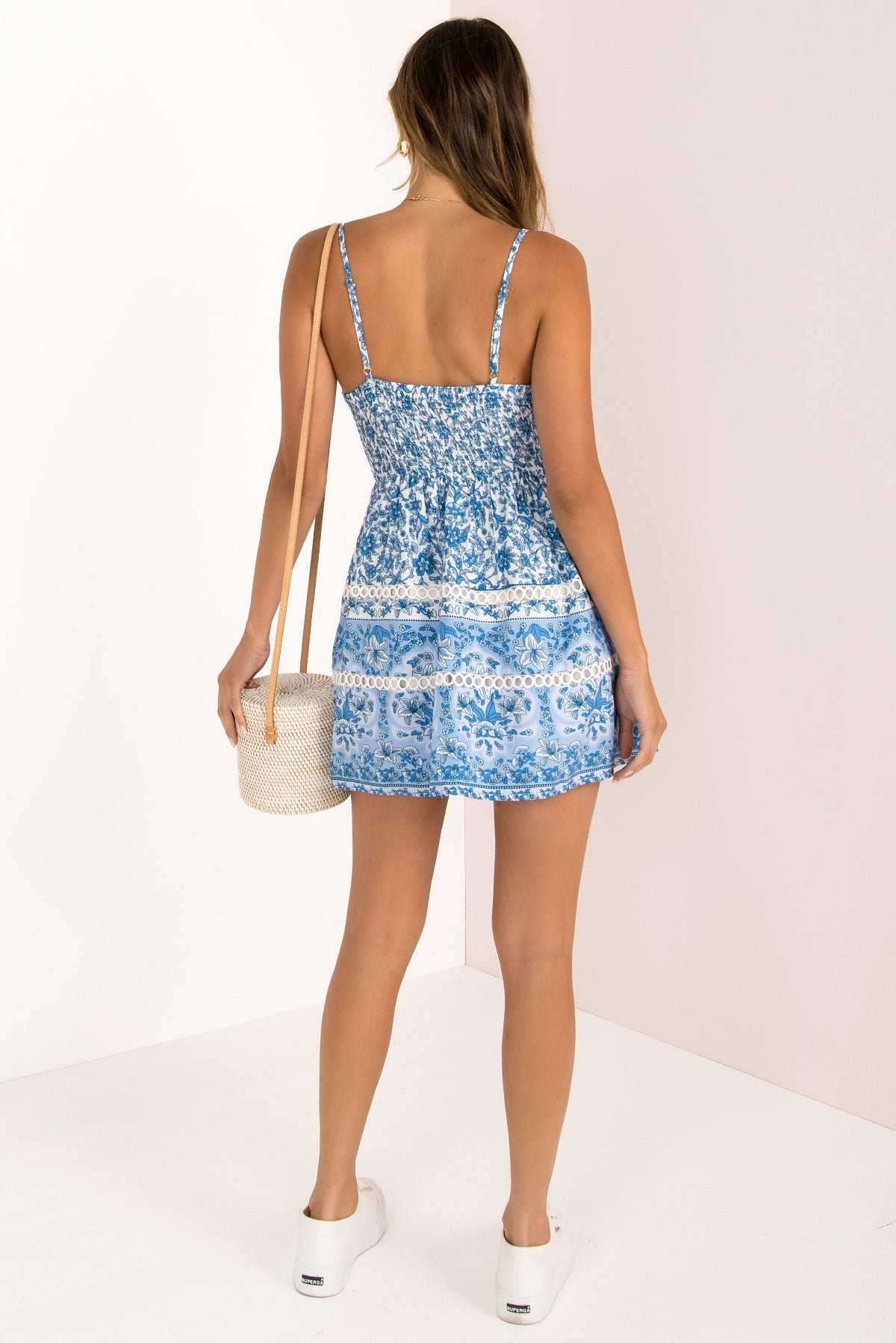 Jamie Dress / Blue Print