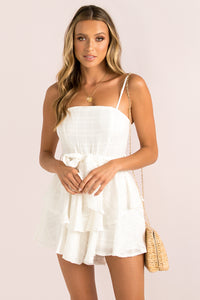 Alila Playsuit / White