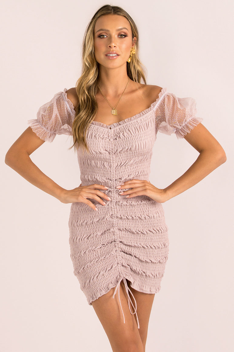 Alessia Dress / Mauve