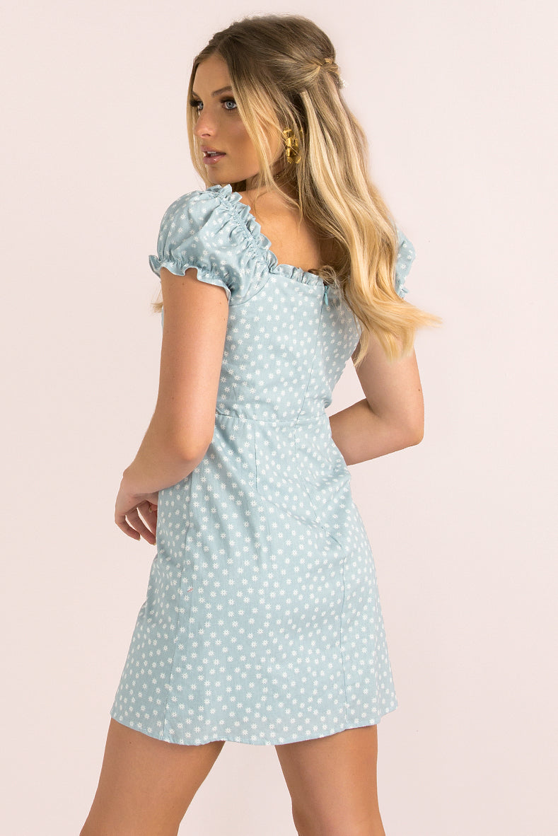 Marlow Dress / Blue