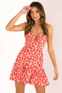 Lizzie Dress / Red
