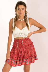 Indiana Skirt / Red