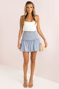Kadie Skirt / Blue