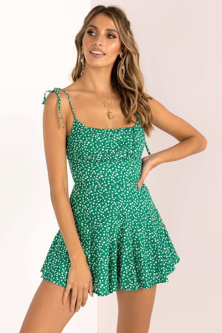 Annie Playsuit / Emerald