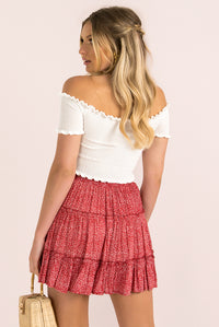 Meredith Skirt / Red