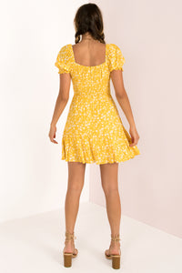 Debbie Dress / Yellow