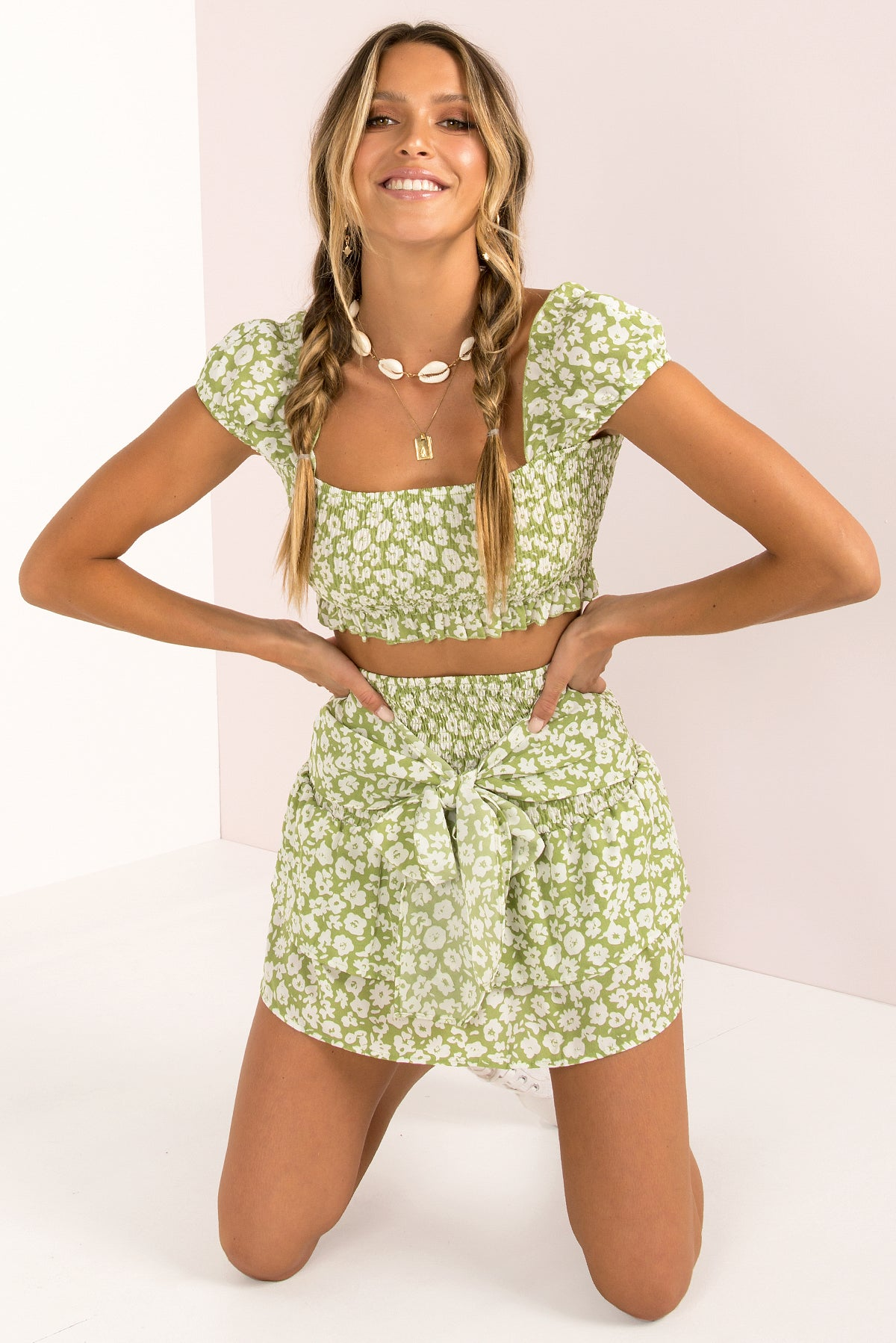 Fifi Top / Lime