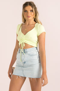 Kody Top / Neon Lime