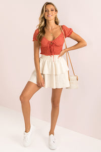 Cindy Top / Red
