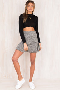 Blair Skirt / Grey