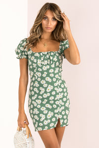 Aggie Dress / Green