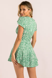 Chantelle Playsuit / Green